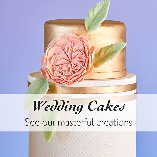 Wedding Cakes by Local Bakery