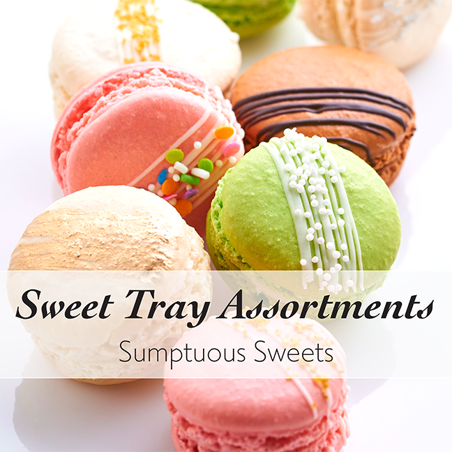 Sweet Trays for Weddings in Chicago by Best Bakery