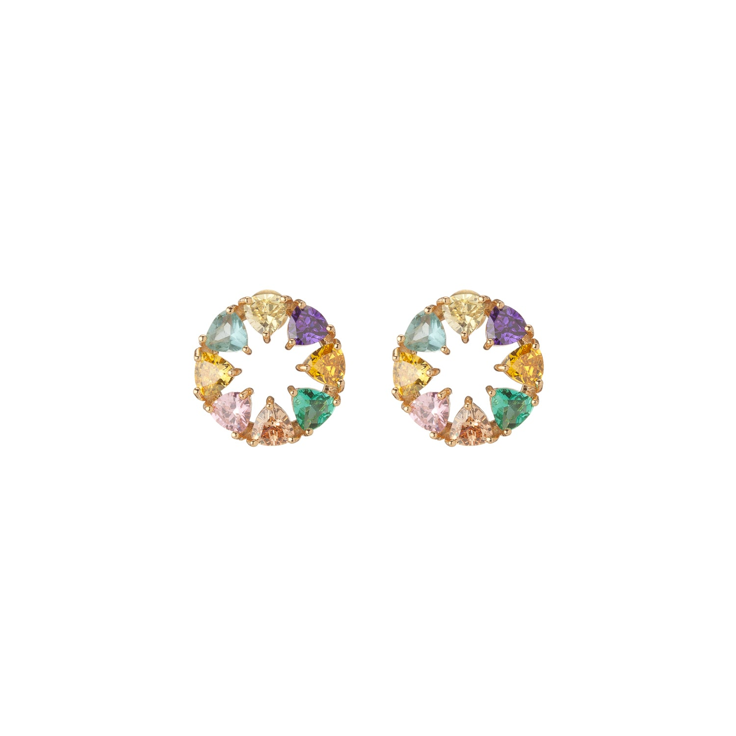 Color Wheel Studs