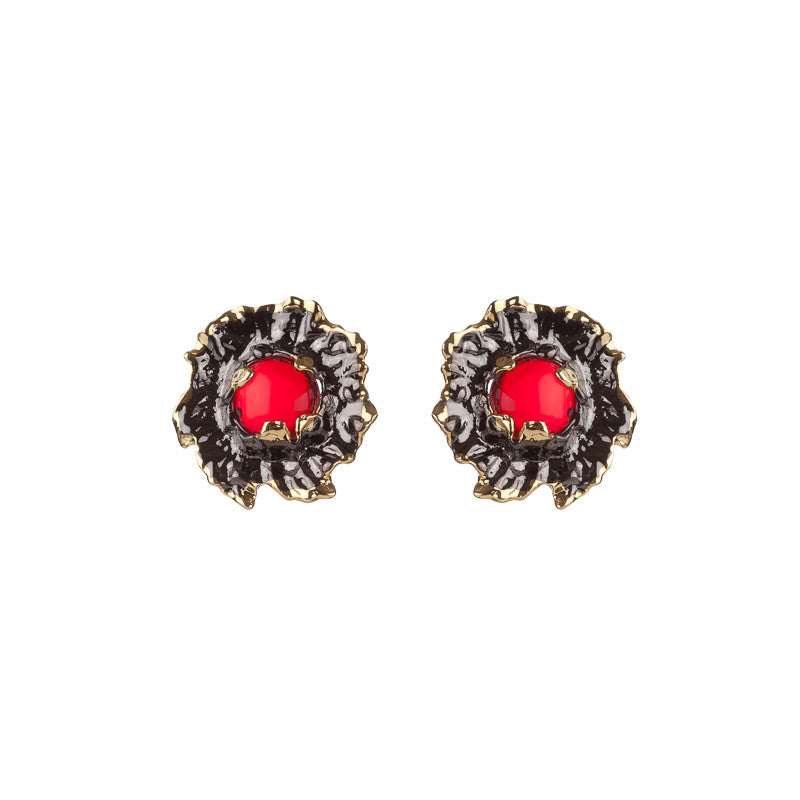 Coral Studs