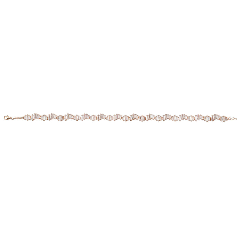 Rose Gold Stone Choker