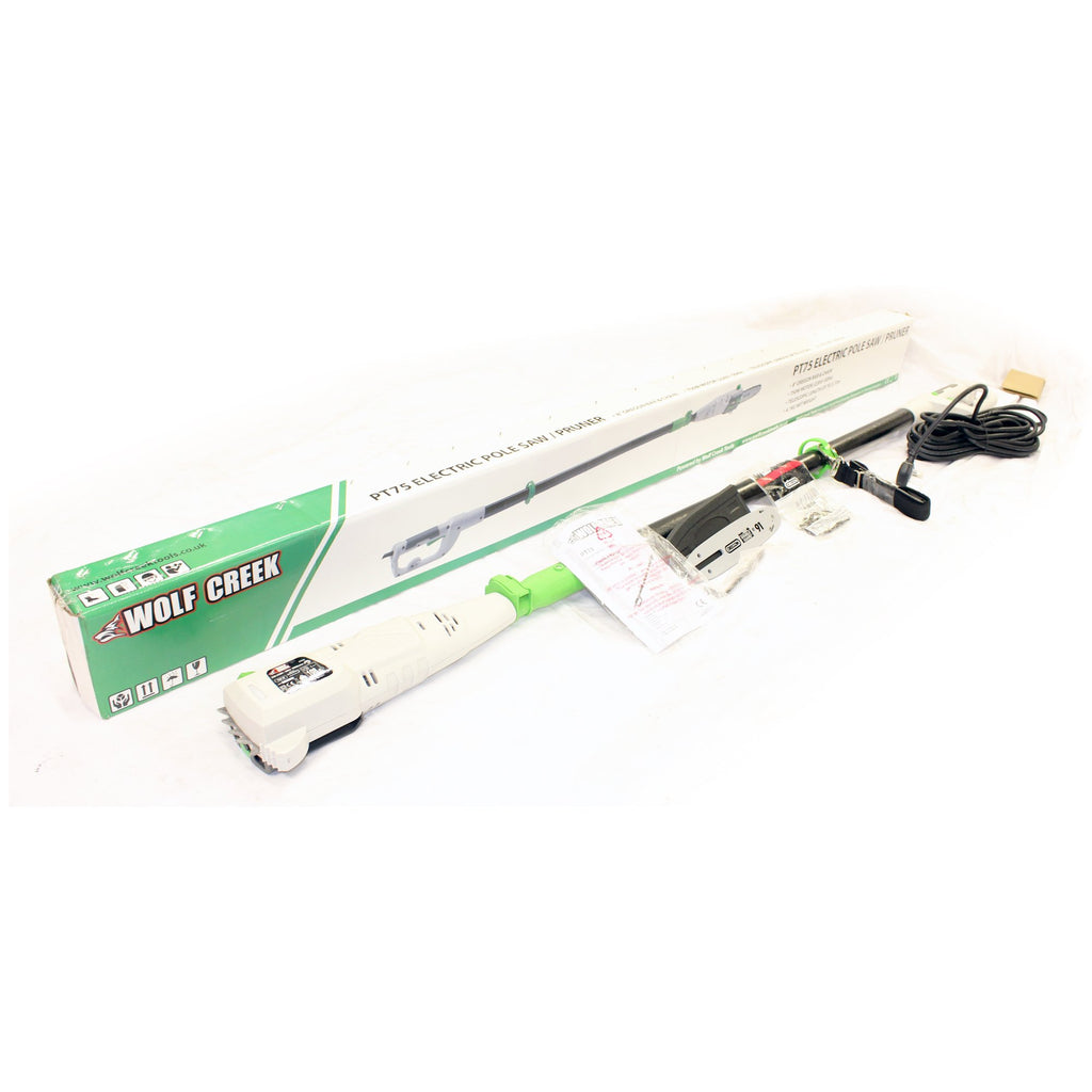 Wolf Creek PT75 Electric Long Reach Pole Pruner