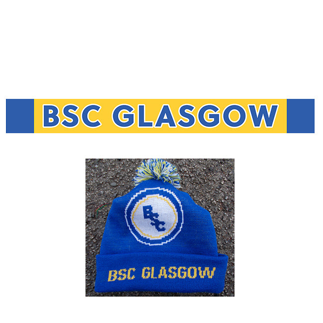 BSC Glasgow Away Hat and with BSC Glasgow Scarf Combo