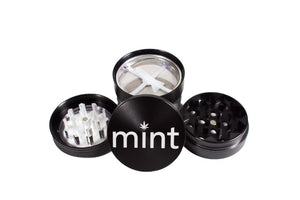 "Mint Grinder with Storage 2"" Black"