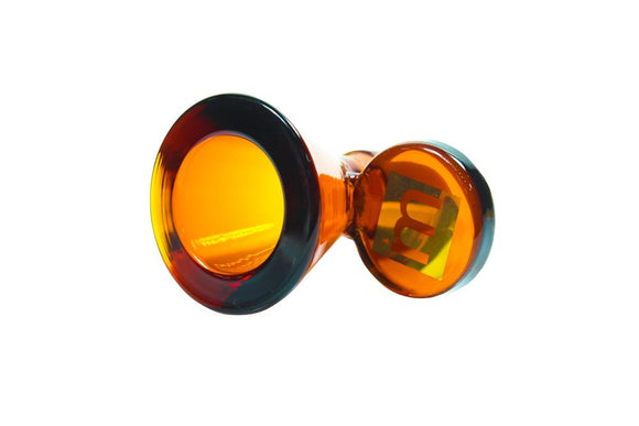 Mint Cone Bowl 14mm Amber