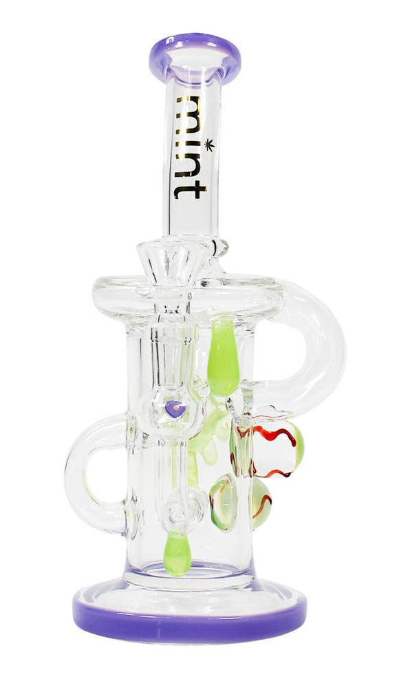Themis Bubbler Bong Purple