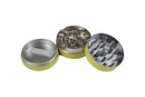 No Name Grinder 3pc Yellow