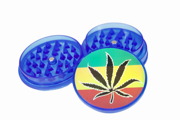 Acrylic Grinder with Storage Blue