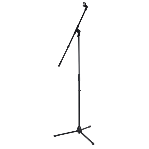 DCM MTL05 Microphone Boom Stand Black with Mic Clip