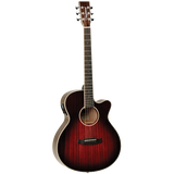 Tanglewood TW4AVB Winterleaf Super Folk C/E Antique Vintage Burst