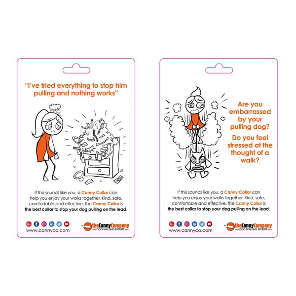 Canny Collar Emotion Cards Display | Pack of 4