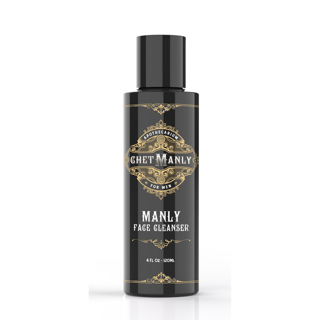 Manly Face Cleanser - Best Face Wash for Men