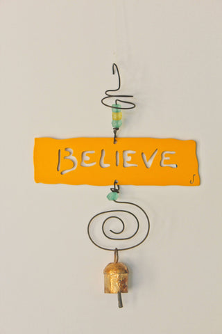 BELIEVE Affirmation Chime