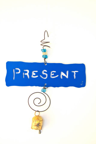 PRESENT Affirmation Chime