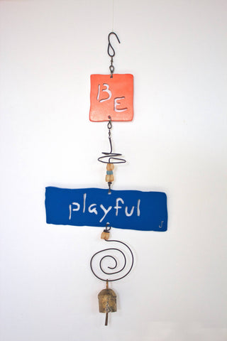 BE PLAYFUL Affirmation Chime