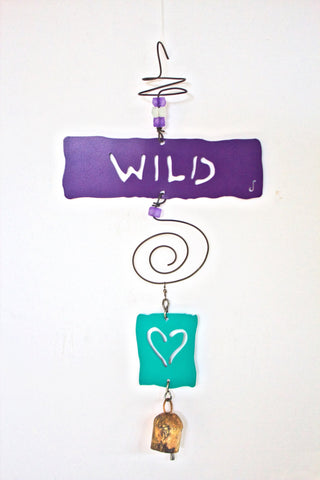 WILD HEART Affirmation Chime