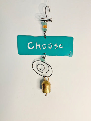 CHOOSE Affirmation Chime