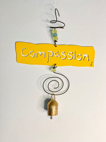 COMPASSION Affirmation Chime