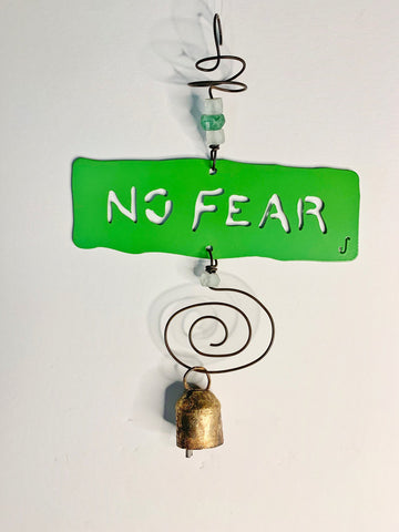 NO FEAR Affirmation Chime