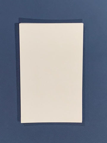 24 Collage Cards White 17PT 130 lb