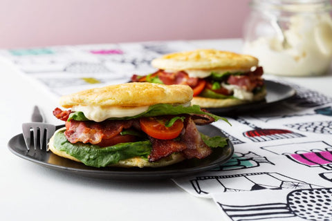 Keto BLT With Oopsie Bread