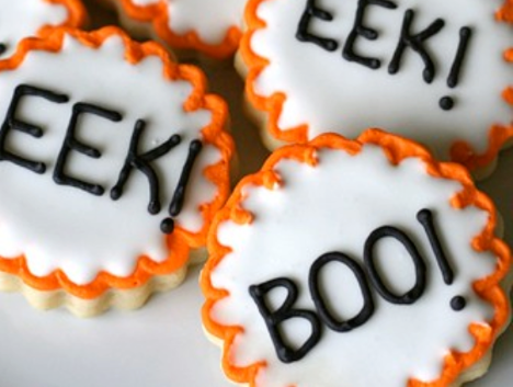 Halloween Sugar Cookies Low carb and Gluten-Free