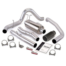 Load image into Gallery viewer, Banks Power 03-07 Ford 6.0L CCLB Monster Exhaust System - SS Single Exhaust w/ Black Tip