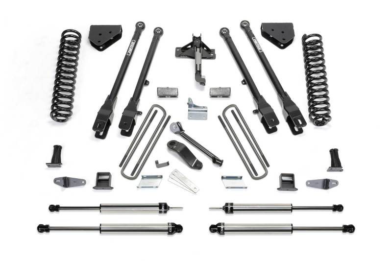 Fabtech 08-10 Ford F350 4WD 10in 4 Link System w/DL Shocks