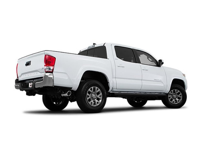 Borla 2016 Toyota Tacoma 3.5L V6 Auto 4DR CC SB S-Type 2.5in Single Left Rear Exit 4in Tip Exhaust