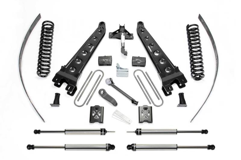 Fabtech 05-07 Ford F350 4WD 8in Radius Arm System w/DL Shocks
