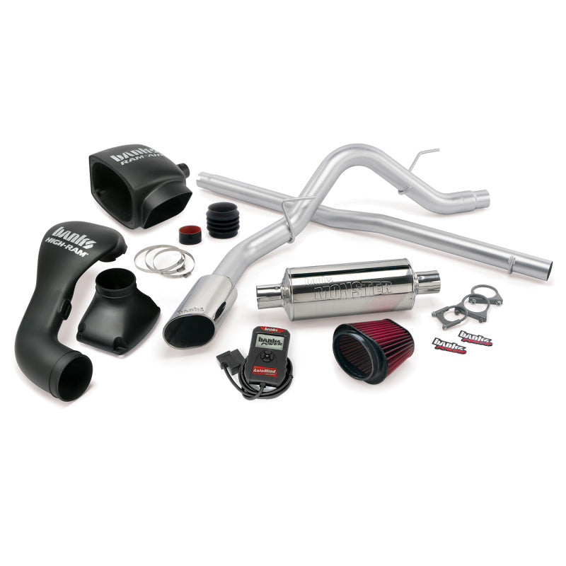 Banks Power 04-08 Ford 5.4L F-150 SCLB/ECMB Stinger System - SS Single Exhaust w/ Chrome Tip