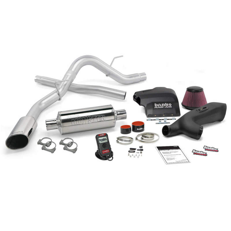 Banks Power 11-14 Ford F-150 3.5L EcoBoost Stinger System - SS Single Exhaust w/ Chrome Tip