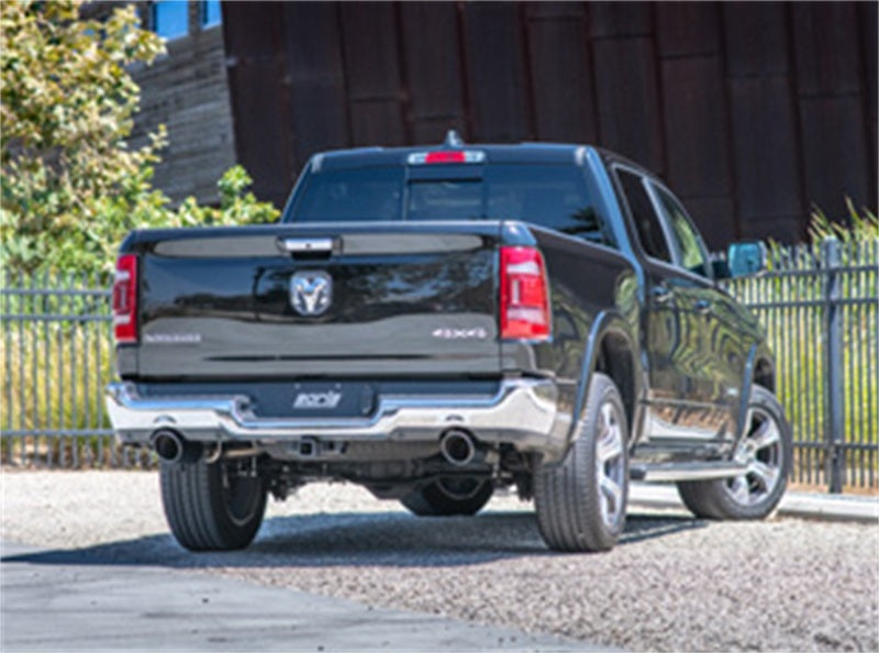 Borla 2019 RAM 1500 5.7L V8 AT 4DR Crew Cab Short Bed Atak SS Catback Exhaust - Black Chrome Tip