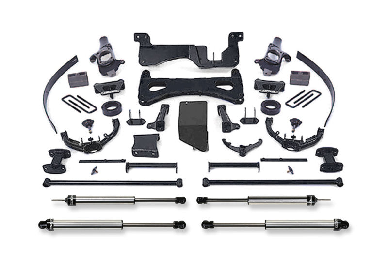 Fabtech 01-06 GM C/K2500HD C/K3500 Non Dually 8in Perf. System w/DL Shocks