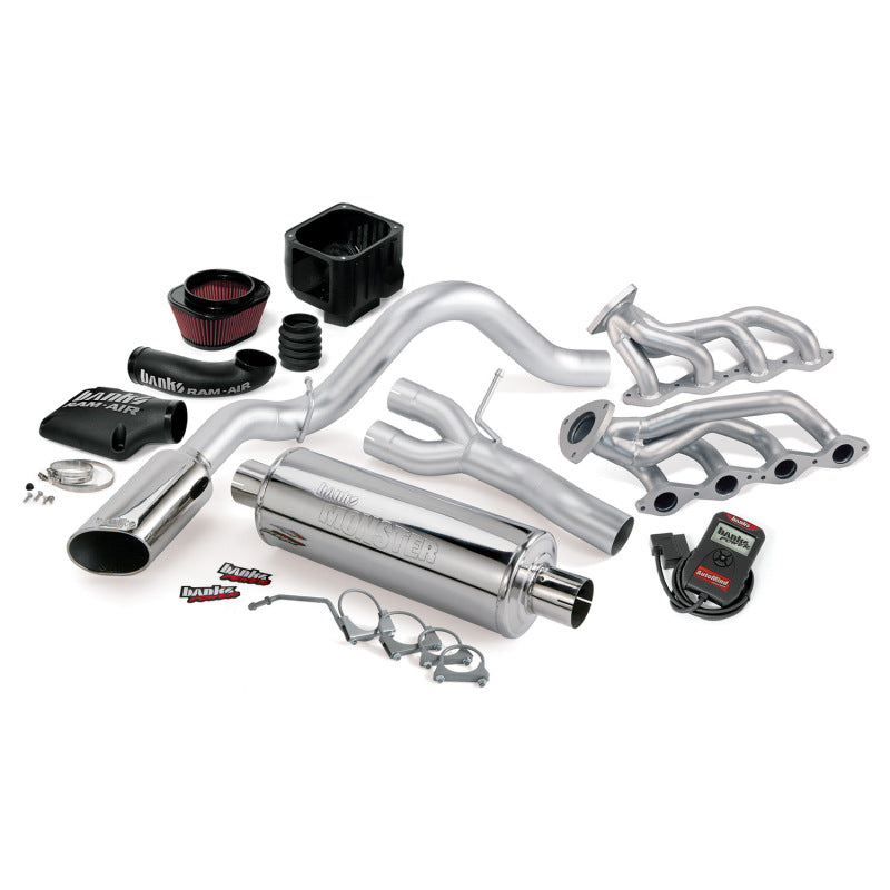 Banks Power 99-01 Chev 4.8-5.3L 1500-SCSB PowerPack System w/ A/I