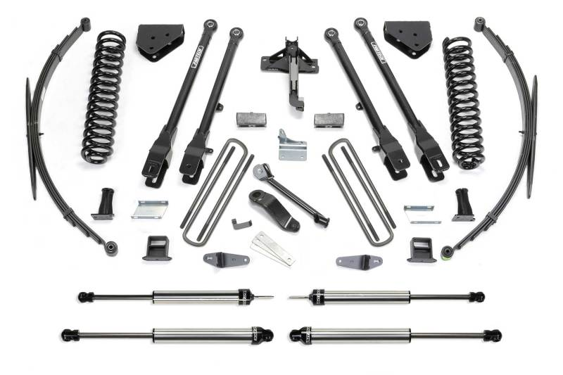 Fabtech 11-16 Ford F350 4WD 10in 4 Link System w/DL Shocks