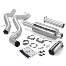 Load image into Gallery viewer, Banks Power 06-07 Chevy 6.6L CCLB Monster Exhaust System - SS Single Exhaust w/ Chrome Tip