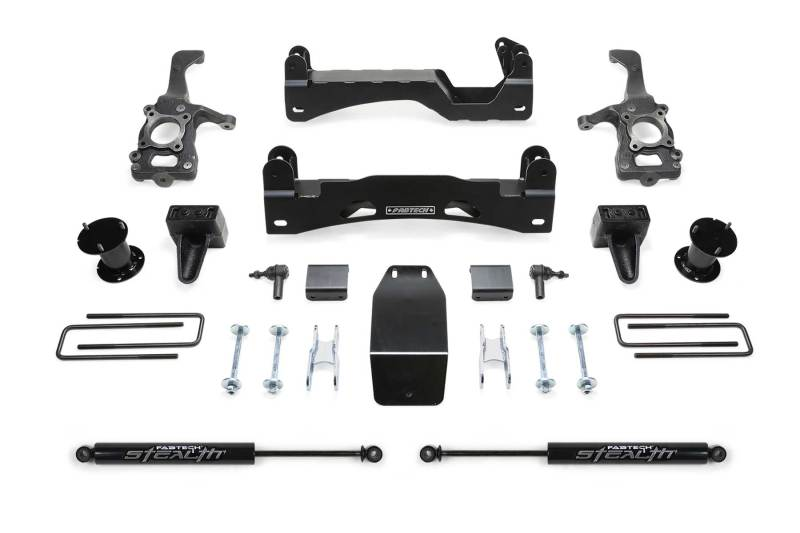 Fabtech 15-18 Ford F150 4WD 6in Basic System w/Stealth Shocks