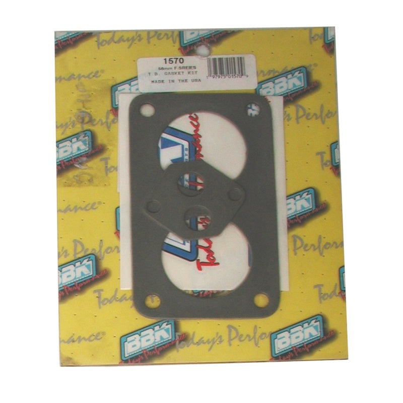 BBK 87-96 Ford F Series Truck Twin 56mm Throttle Body Gasket Kit