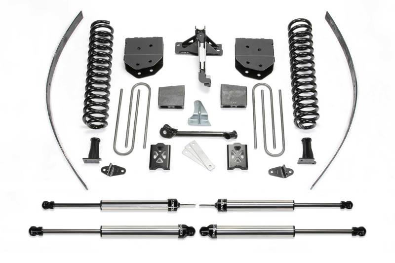 Fabtech 05-07 Ford F250 4WD w/o Overload 8in Basic System w/DL Shocks