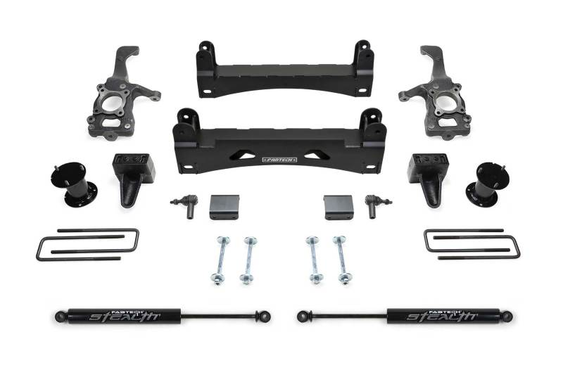 Fabtech 15-18 Ford F150 2WD 6in Basic System w/Stealth Shocks