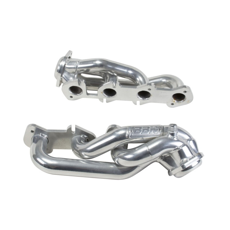 BBK 97-03 Ford F Series Truck 4.6 Shorty Tuned Length Exhaust Headers - 1-5/8 Silver Ceramic