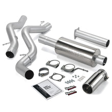 Load image into Gallery viewer, Banks Power 06-07 Chevy 6.6L SCLB Monster Exhaust System - SS Single Exhaust w/ Chrome Tip