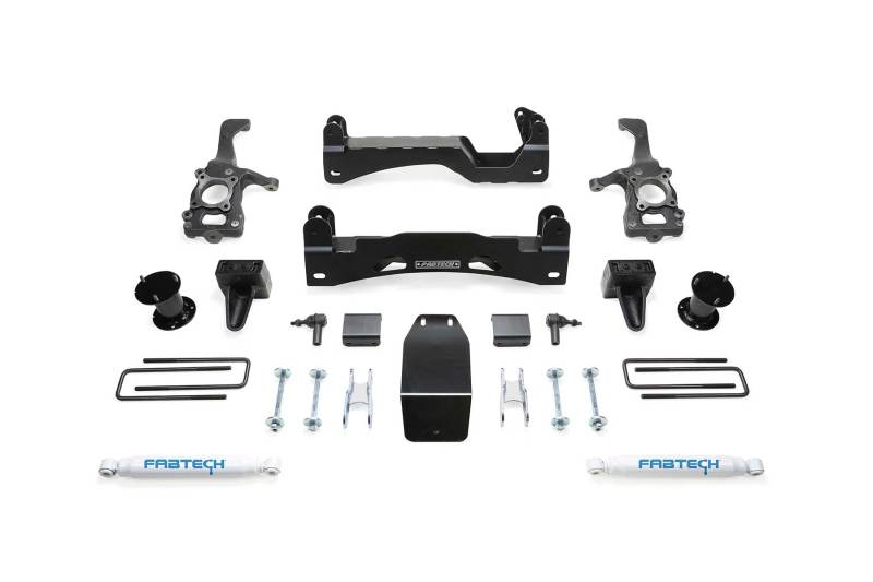 Fabtech 15-18 Ford F150 4WD 6in Basic System w/Perf. Shocks