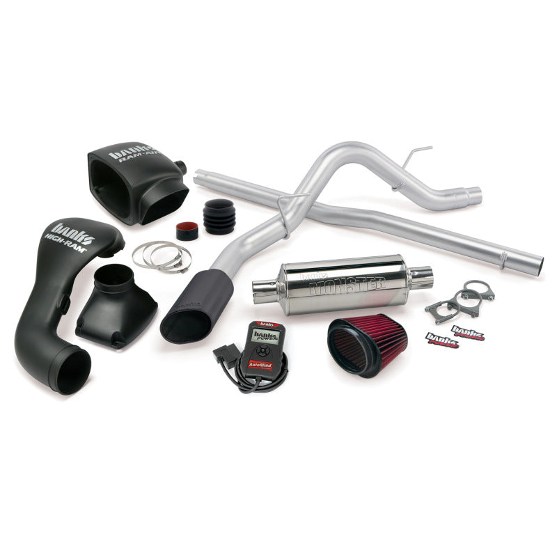 Banks Power 04-08 Ford 5.4L F-150 SCMB Stinger System - SS Single Exhaust w/ Black Tip