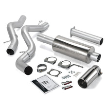 Load image into Gallery viewer, Banks Power 02-05 Chevy 6.6L SCLB Monster Exhaust System - SS Single Exhaust w/ Chrome Tip