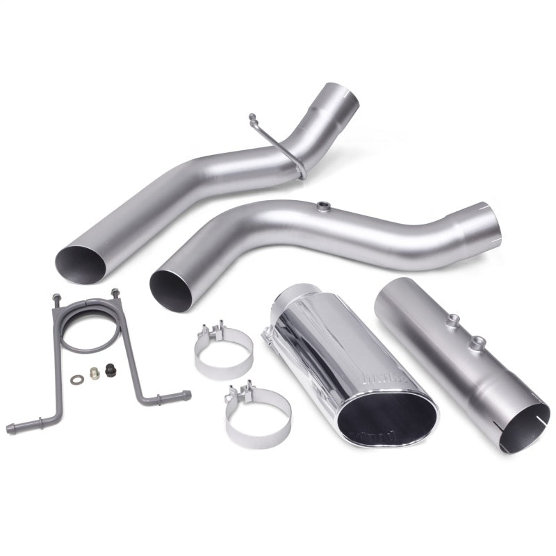Banks Power 17+ GM Duramax L5P 2500/3500 Monster Exhaust System - SS Single Exhaust w/ Chrome Tip
