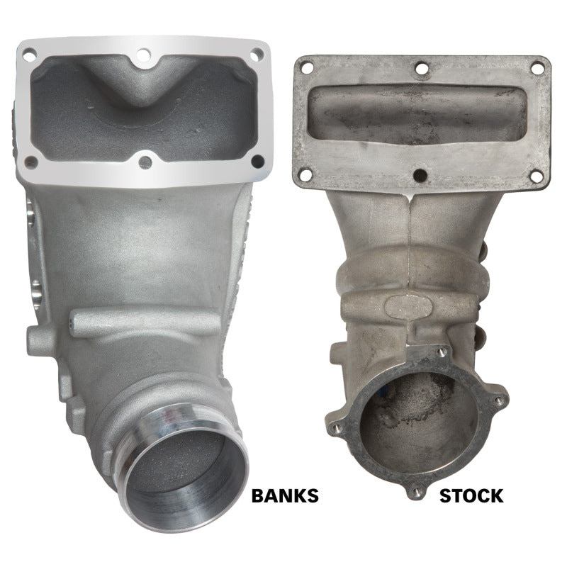 Banks Power 07.5-17 Ram 2500/3500 6.7L Diesel Monster-Ram Intake System w/Fuel Line 3.5in Natural