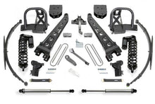 Load image into Gallery viewer, Fabtech 11-16 Ford F350 4WD 10in Radius Arm System w/DL 4.0 Coilovers & Rear DL Shocks