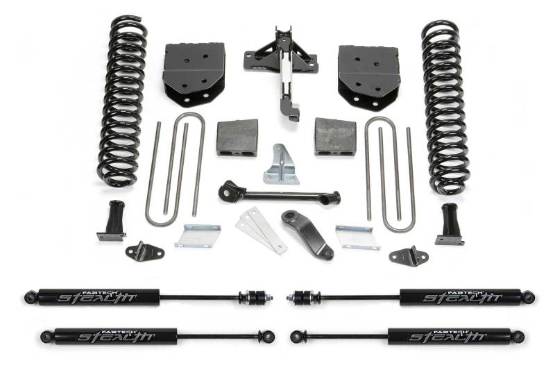 Fabtech 08-16 Ford F250 4WD 6in Basic System w/Stealth Shocks